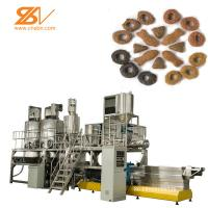China 2 Screw Dog Food Pellet Making Machine 150-5000 Kg/h Capacity Schneider Inverter on sale
