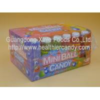 China Sweet Mini Ball Sprite Candy Plastic Bottle Packed Novelty Chocolate Candy wholesale