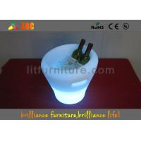 China Party / Nightclub LED Wine Cooler , Rechargeable Beer LED Ice Bucket wholesale