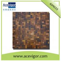 China Wall tiles mosaic for, wood mosaic wall tiles wholesale