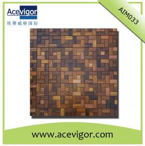 China Wall tiles mosaic for, wood mosaic wall tiles wholesale