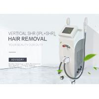 China Painless Multifunctional SHR IPL Hair Removal Home Device / Ance Treatment Machine wholesale