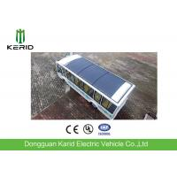 China 14 Seats Driverless Public Transport Bus With Monocrystalline PV Panel wholesale
