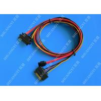 Buy cheap Female 22-pin to Male 22-pin SATA Data & Power Combo Data Extension Cable from wholesalers