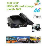China 720P Resolution Full HD Vehicle DVR With 3 / 4G GPS WIFI G- Sensor , 10V - 36V Power wholesale