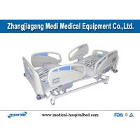 China Lateral Tilting Multifunction Electric Hospital Bed With Tactile Membrane Control wholesale
