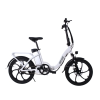 China 36V 500W Rear Drive 20 Inch Folding Electric Bike wholesale