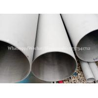 Buy cheap ASTM A312 A106 standard ERW steel welded stainless TP304 pipes for Chemistry industry from wholesalers