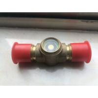 Buy cheap Hermetic Sight Glass for Air Conditioning &Refrigeration, flare sight glass, brass sight glass from wholesalers