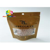 China Small Ziplock Packing Bags , Aluminium Foil Pouch For Herbal Incense Energy Pills wholesale
