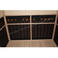 China Outdoor Far Infrared Sauna Cabin Room , Wood 2 Person Infrared Sauna wholesale