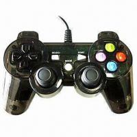 China PC Gamepad with Built-in Motor for Vibration Effect wholesale
