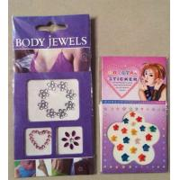 hot sale!!fashion design colour rhinestone tattoo/ various design/heart tattoo