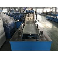 China Gcr15 Roller Material Top Hat Roll Forming Machine with 40Cr Shaft / Protect Cover wholesale