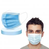 China Bacteria Proof Procedure Face Mask / Economical 3 Ply Surgical Face Mask wholesale