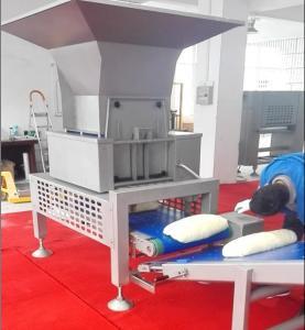 China SEW Motor Pastry Dough Dough Sheeter Machine With Auto Dough Block Cutting Hopper wholesale