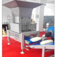 China SEW Motor Pastry Dough Sheeting Machine With Auto Dough Block Cutting Hopper wholesale