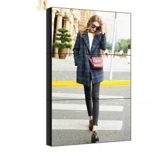China ROHS LCD Video Wall Display 1920x1080/4k 3x3 LCD Splicing Screen wholesale