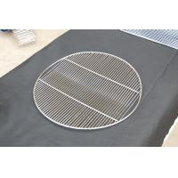 China Round crooked BBQ stainless steel grill mesh on sale