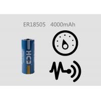 China Li - SOCl2 3.6V 4000mAh ER18505 Primary Cell For Tracking Device , GPS Tracking wholesale