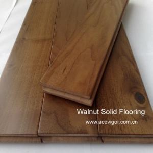 China American Walnut Solid Flooring wholesale
