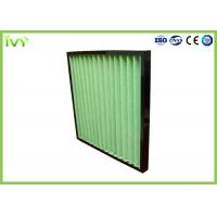 China G4 Pleated Prefilter Replacement Air Filter Easy Installation With Plastic Frame wholesale