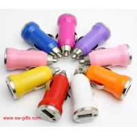 China Promotion Bullet Mini USB Car Charger Universal Adapter for iphone 5S 6 6S Plus Samsung on sale