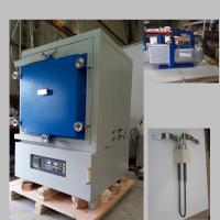 China High Temp Argon Vacuum Heat Treat Oven , PID Control Lab Inert Atmosphere Furnace on sale