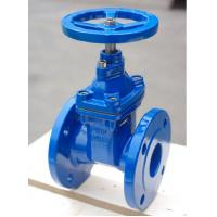 China Soft Sealing / Rubber Seat And Wedge Resilient Seated Gate Valve Full Bore wholesale