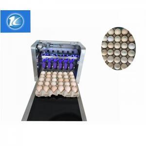 China Clear Pattern Eggs Inkjet Batch Coding Machine With ABC Standard English Font wholesale