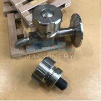 Quality Sanitary Stainless Steel Sample Valve Tri Clamp Style Saniatry Pipe Fitting for sale