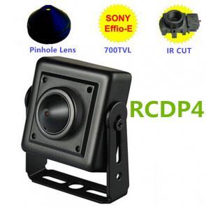 China Analog 800TVL Hidden Car Reversing Camera  Low Lux Mini Pinhole ATM Spy Camera wholesale