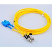 Buy cheap Duplex Single Mode Fiber Cable , Test Equipment SM Fiber Optic Cable from wholesalers