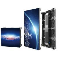 China Aluminum Cabinet High Definition Indoor Rental Led Screen , Seamless Led Video Wall Hire wholesale