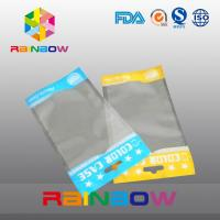 China Self adhesive seal opp head bags , clear plastic stationery packaging bags wholesale