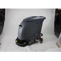 China High Efficiency Hand Push Floor Scrubber Dryer Machine With 40L Clear Water Tank wholesale