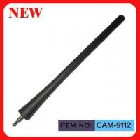 China AM / FM Telescopic Car Aerial Replacement Black Spring Mast 18cm on sale