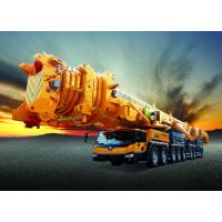 China Large Mobile Truck Loading Crane 100t For Construction Industry Spacious Cab wholesale