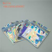 Quality Three Side Seal Foil Pouch Packaging , Small Cosmetic Stand Up Bags With Zipper for sale