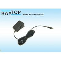 China High Efficiency Wall Mount Power Adapter Ac Dc Power Supply US Plug 12V 1000mA wholesale