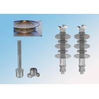 Buy cheap 11kV Silicone Rubber Composite Pin Insulator 385mm Creepage Distance from wholesalers
