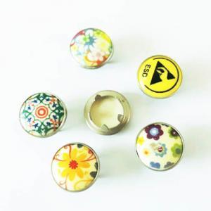 China Custom Fashion Shirt Snap Button Pearl Prong Fastener; Brass Pearl Prong Fastener 4 Pieces on sale