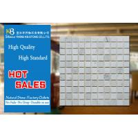 China External Decorative White Carrara Marble Square Polished For Pool on sale