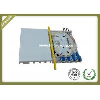 China Indoor FTTH Fiber Optic Terminal Box 4 Cores ABS Material Small Size Wall Mount wholesale