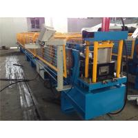 China 3T Manual Decoiler Gutter Roll Forming Machine 320mm Coil Width wholesale