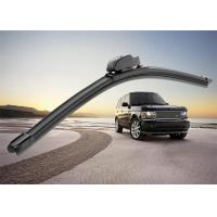 Flat Car Window Wiper Blades , Audi A4 Replacement Wiper Arm With PVC Spoiler