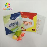 China Three Side Sealed Printed Plastic Bags Gummy Candy Packaging Customized With Ziplock wholesale