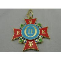 China Brass / Copper / Iron Souvenir Badges with synthetic Enamel, Die Cast, Die Struck, Stamped wholesale