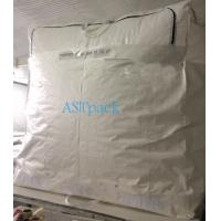 Quality Woven Bulk Container liners with Full Width Zip Opening for sale