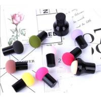 China Multi Colors Cosmetic Powder Puff Smooth Ponge / Cotton / Emulsion Material on sale